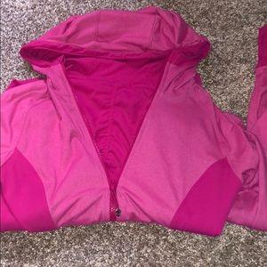 Lululemon 🍋 pink zip up